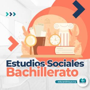 Estudios Sociales Bachillerato